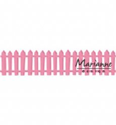 Marianne Design mallen COL1423 White Picked Fence