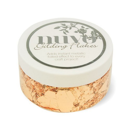 Nuvo gilding flakes 852N sunkissed copper