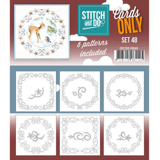 Stitch and Do COSTDO10048 patronen Cards Only