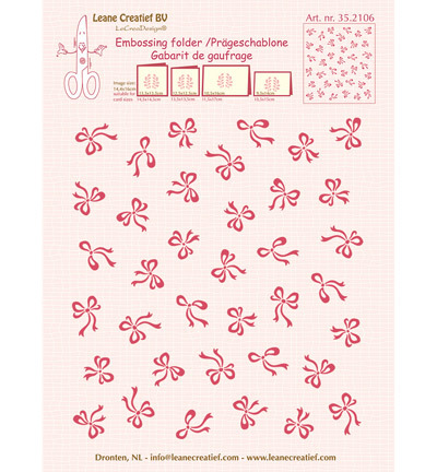 Leane Creatief embosfolder 35.2106 Bows