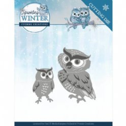 Yvonne Creations SW YCD10192 Winter Owls