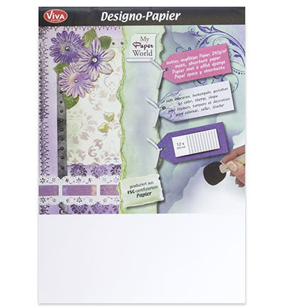 Viva Decor Papier 0500 A4 model 12 vel