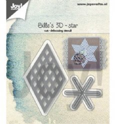 Joy!Crafts mallen 6002/1391 3D Star