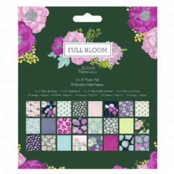DoCrafts Paper Pad 160511 Full Bloom