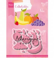 Marianne Design mallen COL1469 Fruit by Marleen