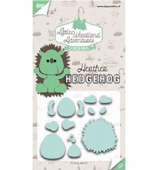 Joy!Crafts mallen 6002/3124 Heather hedgehog - Ege