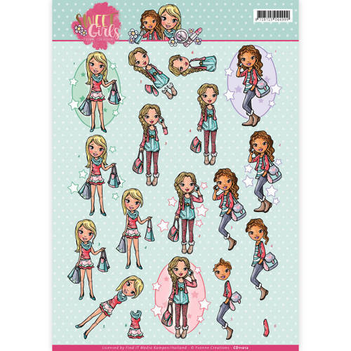 Yvonne SG CD11012 3d knipvel Sweet Girls