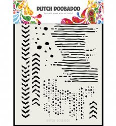 Dutch Doobadoo Mask Art 5136 Grunge Mix