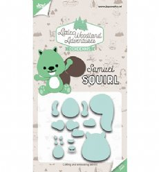 Joy!Crafts mallen 6002/3123 Samuel Squirl