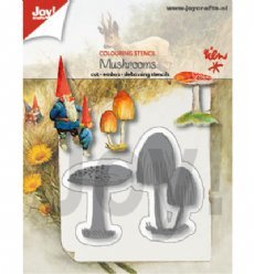Joy!Crafts mallen Paddenstoelen