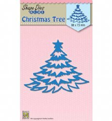 Nellies Choice mallen SDB056 Christmas Trees