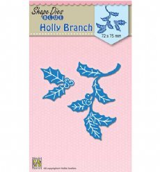 Nellies Choice mallen SDB058 Holly Branch