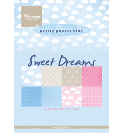Pretty Papers Bloc PB7055 Sweet Dreams