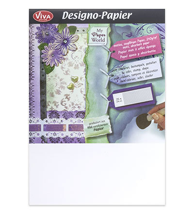 Viva Decor Papier 0600 A5 model 25 vel