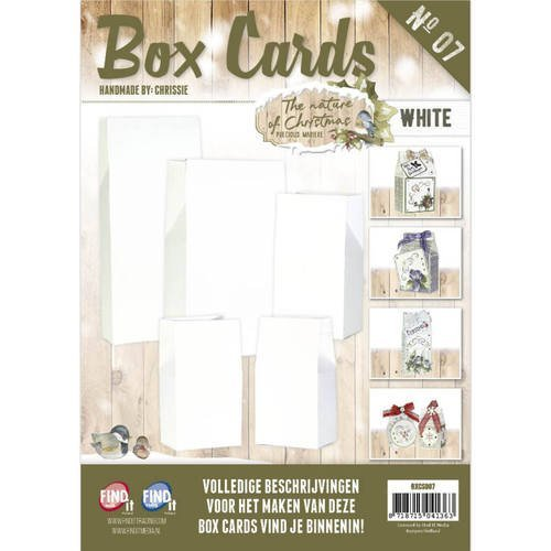 Box Cards BXCS007 The Nature of Christmas