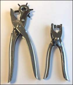 Hole Puncher and Eyelet Pliers Set