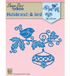 Nellies Choice mallen SDB064 Branch Bauble Bird
