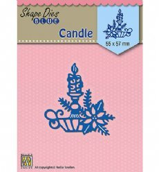 Nellies Choice mallen SDB067 Christmas Candle