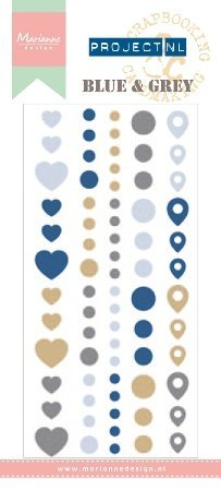 Marianne Design PL4501 NL Adhesive Stickers