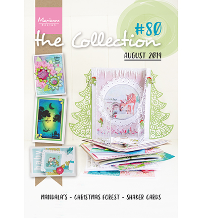 Marianne Design #80 CAT1380 The Collection 80