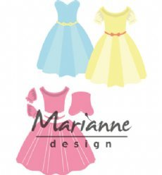 Marianne Design mallen COL1452 Dress