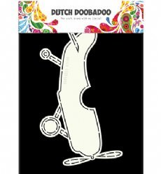 Dutch Doobadoo Card Art 3666 Airplane
