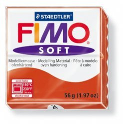 Fimo Soft 8020-24 indisch rood