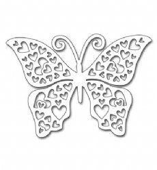 Penny Black mallen 51-297 Hearts Butterfly