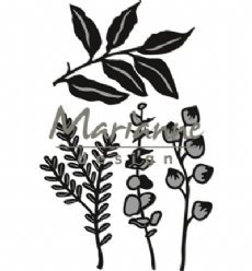 Marianne Design mallen CR1432 Herbs and Leaves