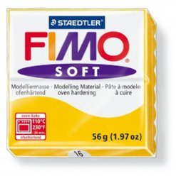 Fimo Soft 8020-16 zonnegeel