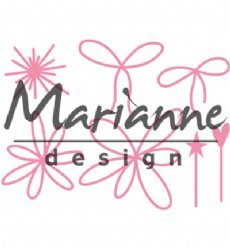 Marianne Design mallen COL1441 Pins and Bows