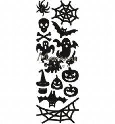 Marianne Design mallen CR1450 Punch Die Halloween