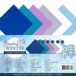 Yvonne Creations SW YC-A5-10019 Sparkling Winter