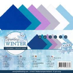 Yvonne Creations SW YC-4K-10019 Sparkling Winter