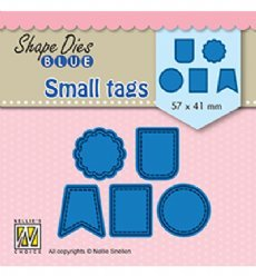 Nellies Choice mallen SDB078 Small Tags