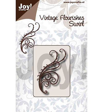 Joy!Crafts mallen 6003/0092 Swirl