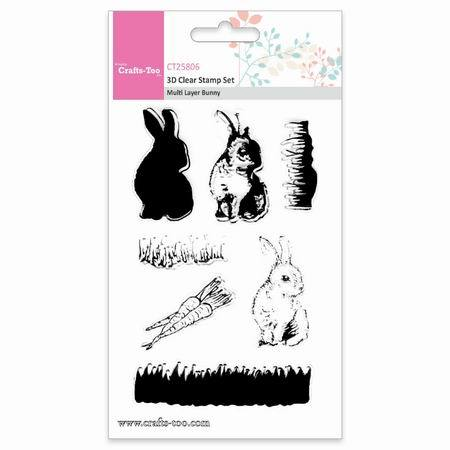 Crafts Too stempels CT25806 Bunny