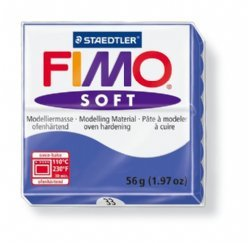 Fimo Soft 8020-33 brilliantblauw