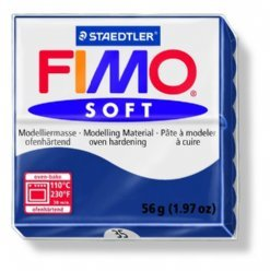 Fimo Soft 8020-35 windsorblauw