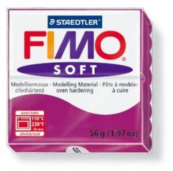 Fimo Soft 8020-61 purperviolet