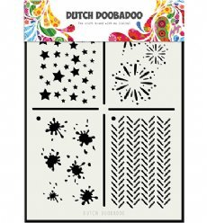 Dutch Doobadoo Mask Art 5131 Multi 2