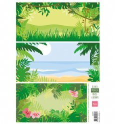 Marianne Design AK0070 knipvel Tropical