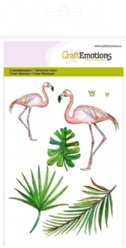 CraftEmotions stempels 1254 Flamingo