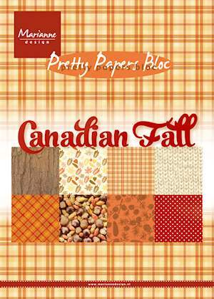Pretty Papers Bloc PK9138 Canadian