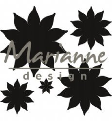 Marianne Design mallen CR1431 Succulent Pointed