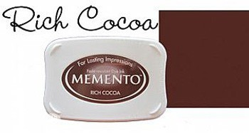 Memento Inkpad Large 800 Rich Choca