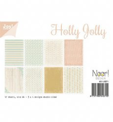 Joy!Crafts Papierset Holly Jolly