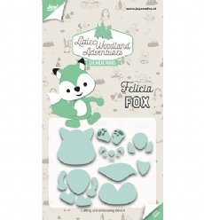 Joy!Crafts mallen 6002/3129 Felicia Fox