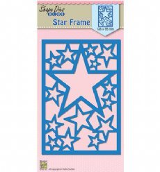 Nellies Choice mallen SDB054 Star Frame