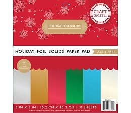 Craft Smith Papers CIN034 Holiday Foil Mirror